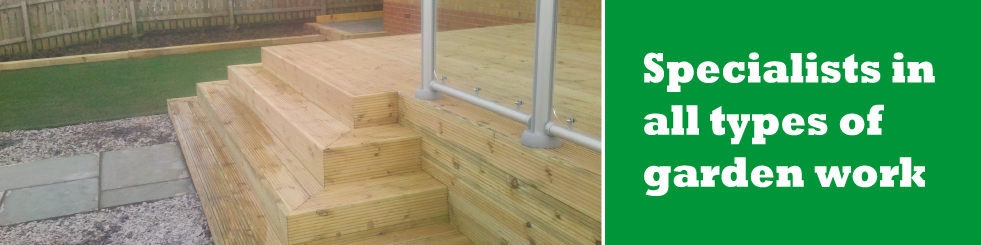 Garden Decking Dumbarton
